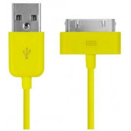 Câble USB jaune iPhone