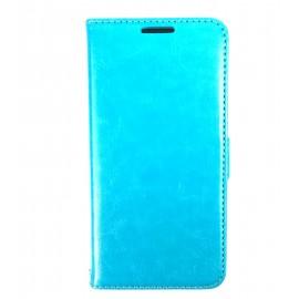 Etui portefeuille Samsung Galaxy S6 Bleu ciel