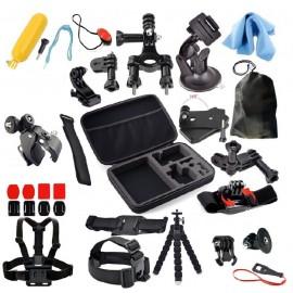Mallette complète accessoires pour GoPro - 25 en 1