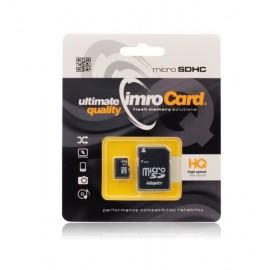 Carte mémoire Micro SD 16Go + adaptateur