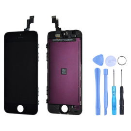 Ecran noir iPhone SE + Outils