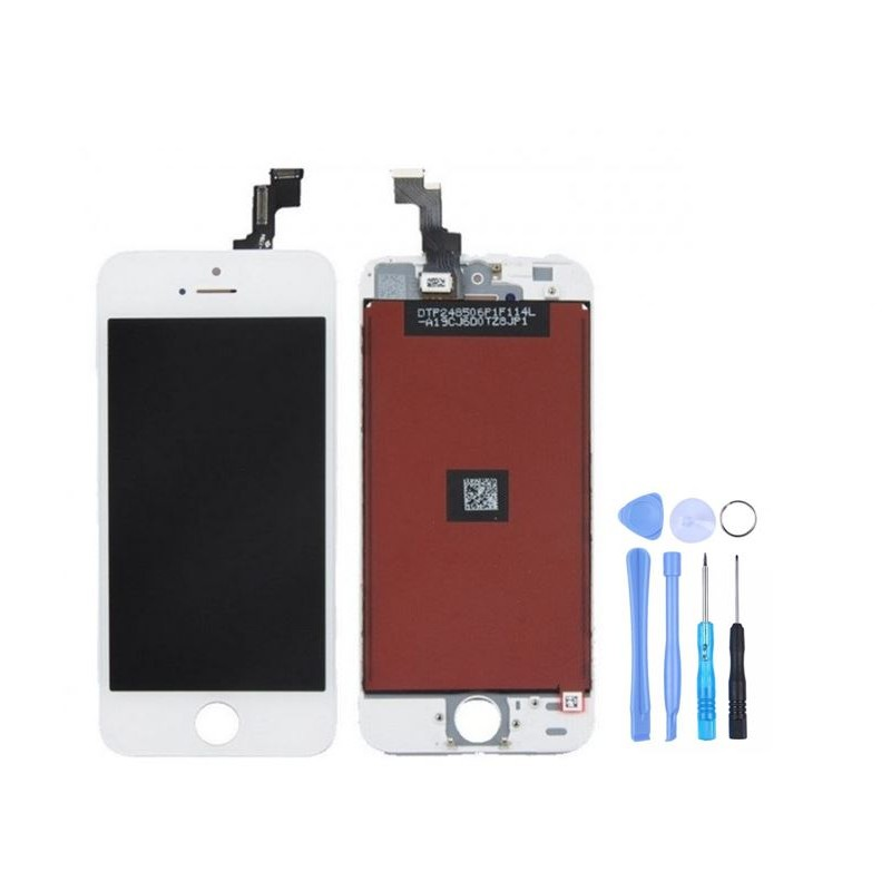 ecran blanc iphone se lcd origine pas cher qualit. Black Bedroom Furniture Sets. Home Design Ideas