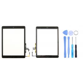 Vitre tactile complète pour iPad Air Noir