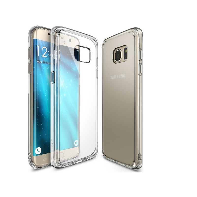 coque silicone transparente galaxy s7 tout pour phone. Black Bedroom Furniture Sets. Home Design Ideas