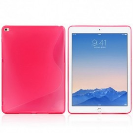 Coque silicone S-line iPad Air 2 Rose