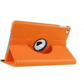 Etui cuir 360° iPad Mini 4 Orange