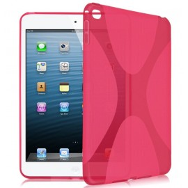 Coque silicone S-line iPad mini 4 Rose