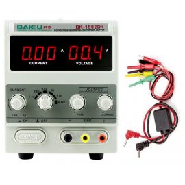 Source d'alimentation numérique réglable Baku BK-1502D+