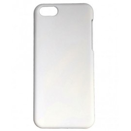 Coque plastique dur iPhone 5C blanc