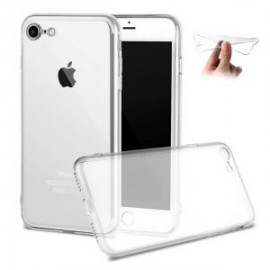 Housse silicone TPU transparente iPhone 7