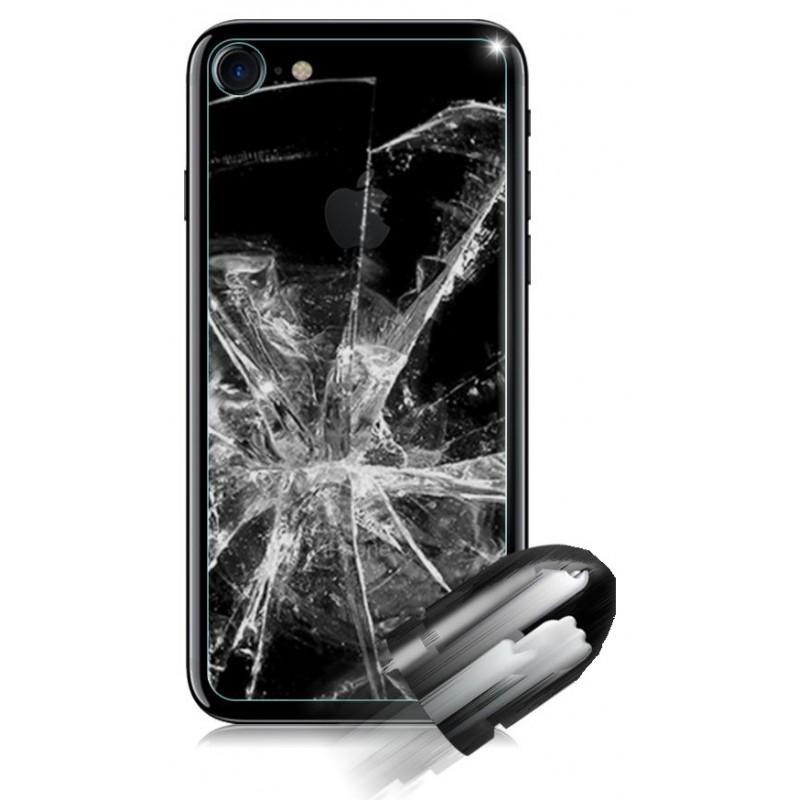 Film de protection arri re en verre tremp iphone 7 tout pour phone - Film de protection table en verre ...