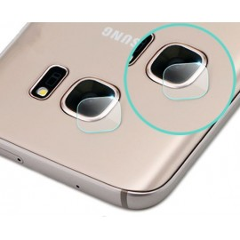 Film en verre trempé lentille caméra arrière Samsung Galaxy S6 Edge