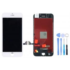 Ecran pour iPhone 7 blanc + Outils