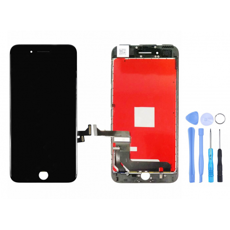 Ecran pour iPhone 7 Plus noir + Outils