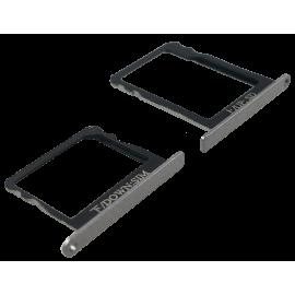 Tiroir SIM + SD Huawei P8 Noir