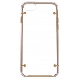 Coque bumper cristal iPhone 7 coloré
