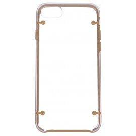 Coque bumper cristal iPhone 7 Plus coloré