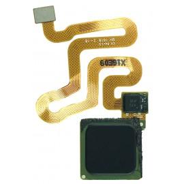 Nappe bouton home Huawei P9 Gris foncé