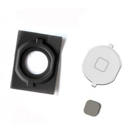 Bouton home avec spacer iPhone 4S blanc