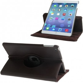 Etui cuir 360° iPad Air 2 Marron