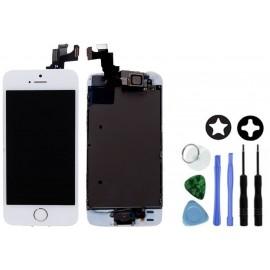 Ecran complet blanc pour iPhone 5S + Outils