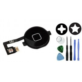 Bouton home noir complet iPhone 4S