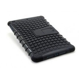 Housse silicone noire antichoc iPad Mini 1/2/3