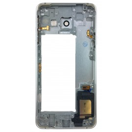 Chassis arrière Samsung Galaxy A3 2016 Blanc