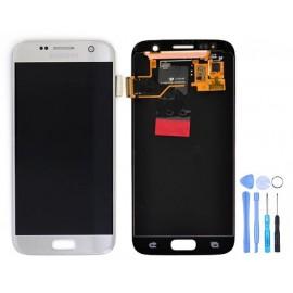 Ecran Argent Samsung Galaxy S7 + Outils