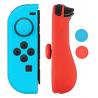 Protections silicone manettes Joy-Con Nintendo Switch bleu et rouge