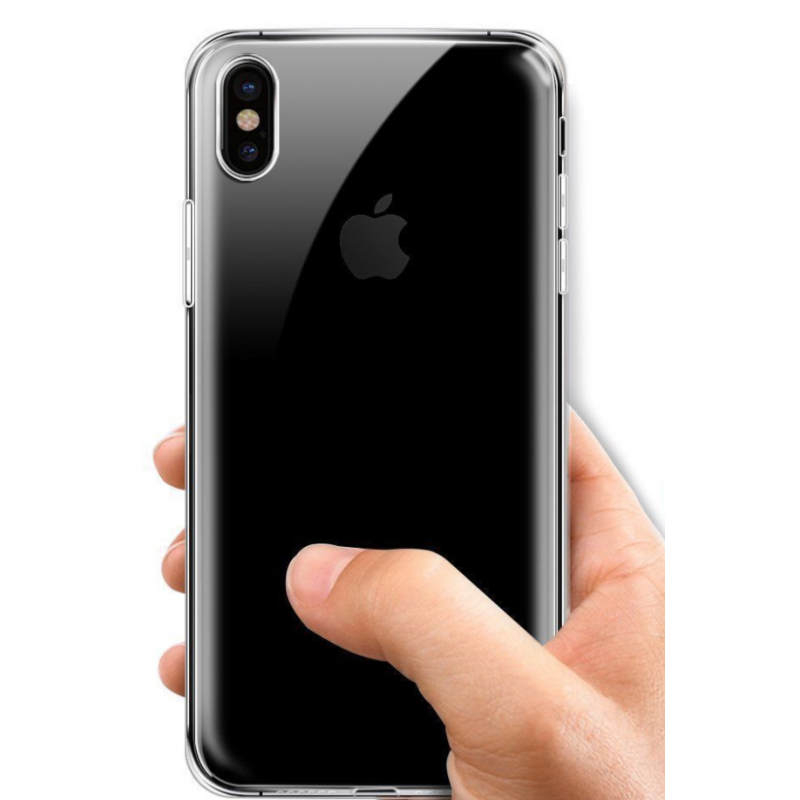 coque cristal iphone x
