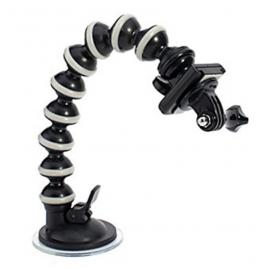 Fixation flexible avec ventouse GoPro