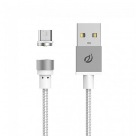 Câble Micro USB magnétique - Silver