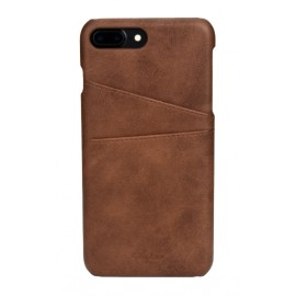 Coque cuir marron iPhone 7 Plus / iPhone 8 Plus