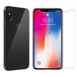 Pack cristal protect iPhone X