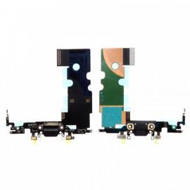 Connecteur de charge iPhone 8 - Noir