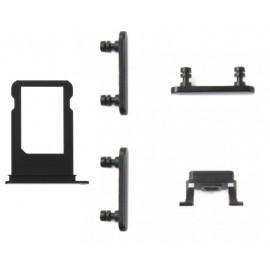 Lot de 5 pièces iPhone 7 / 7 Plus Noir