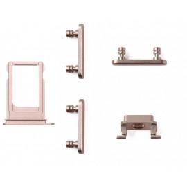 Lot de 5 pièces iPhone 7 / 7 Plus Or rose