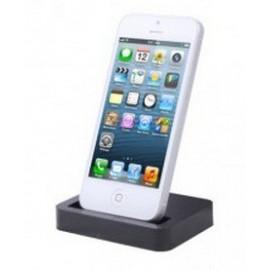 Station d'accueil dock noir iPhone 5