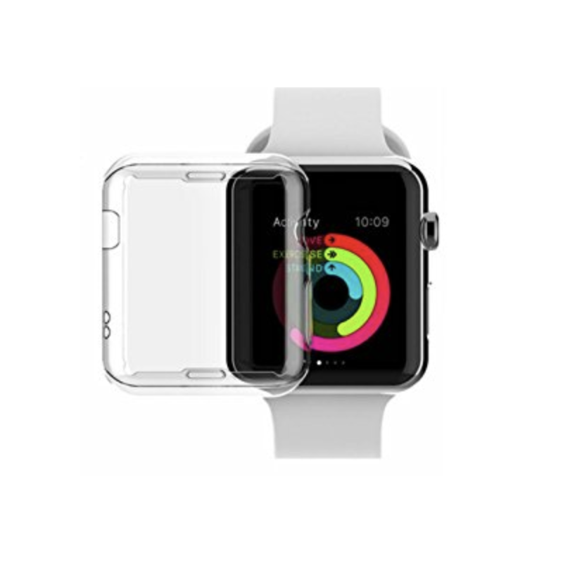 coque rigide transparente apple watch 42mm s rie 2 s rie 3. Black Bedroom Furniture Sets. Home Design Ideas
