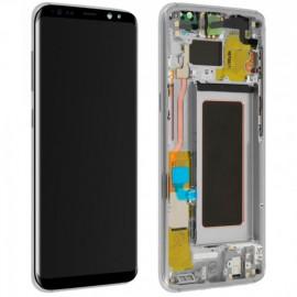Ecran complet d'origine Samsung Galaxy S8 Plus Argent