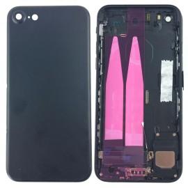 Coque arrière complète iPhone 7 Noir