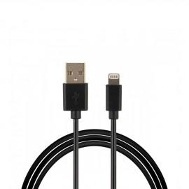 Câble USB Lightning Noir