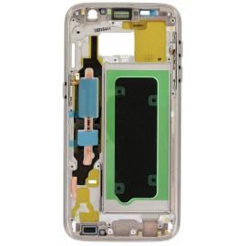 Châssis intermédiaire Samsung Galaxy S7 Or