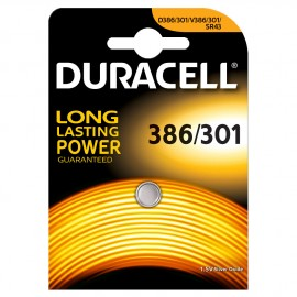 Pile 386/301 Duracell