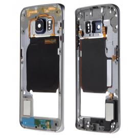 Châssis intermédiaire Samsung Galaxy S6 Edge Noir