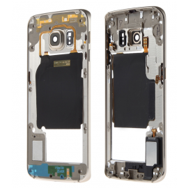 Châssis intermédiaire Samsung Galaxy S6 Edge Or