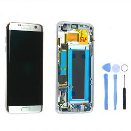 Ecran complet d'origine Samsung Galaxy S7 Edge G9835F Argent