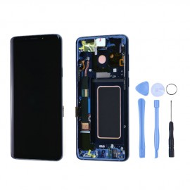 Ecran complet d'origine Samsung Galaxy S9 Plus G965F Bleu