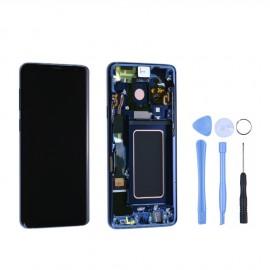 Ecran complet d'origine Samsung Galaxy S9 G960F Bleu